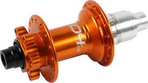 Hope Pro 4 Rear Disc Hub 12 x 148mm for Boost, XD Driver, 32h, Orange