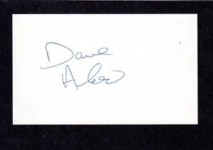 Dave Aloi  RHP  MINOR LEAGUER HOU  1973-78  SIGNED AUTOGRAPH AUTO 3×5 INDEX COA