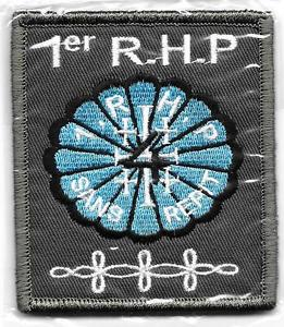 PARAS    HUSSARDS      1°RHP   4°ESCADRON      patch  Félin  monté  sur  velcros