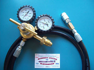 Nitrogen Regulator Air Chuck  Schrader Air Shock Fill Tool Valve Works Fox King