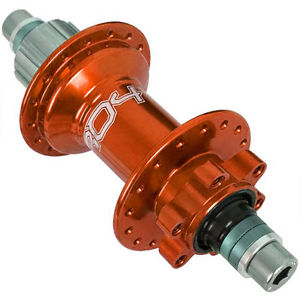 Hope Pro 4 Rear Hub 32H Trail Single Speed 10mm Bolt On 88Pt Eng Orange New