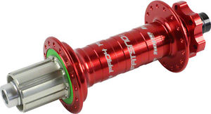 Hope Fatsno Pro 4 Rear Hub 32H 197mm x 12mm Red