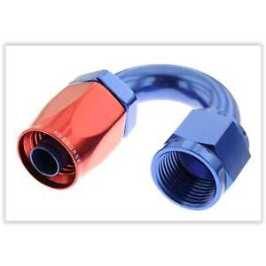 Red Horse Products 0180-08-1 -08 180 degree female aluminum hose