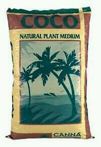 CANNA COCO 50 LITRES BAG RHP CERTIFIED CALMAG BUFFERED PLUS TRICHODERMA HOLLAND