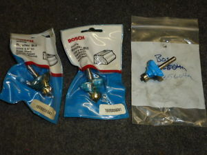 LOT OF 3 BOSCH COVE & BEAD ROUTER BITS, #85604M, CARBIDE TIPPED w/ BALL BEARING