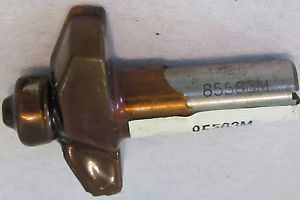 """Bosch 85583M Raised Panel Router Bit with Bearing 2 fluted 1/2"""" shank"""