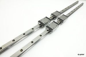Bosch Linear Guide Bearing R16222+1030L 25Size LM Guide CNC Router 2Rail 4Block