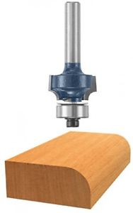 Bosch 1/8-Inch Radius Roundover Two Flutes Router Bit With Ball Bearing