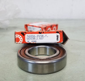 BOSCH Deep Groove Ball Bearing 30/22×13 6006-2VSR Lot Of 2