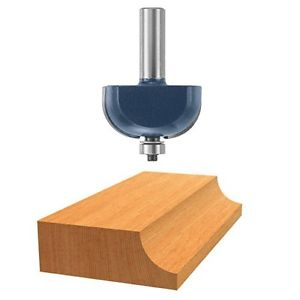 Bosch 84437M Router Bit Carbide Tip 3/4R Cove with Ball Bearing 1/2 Shank