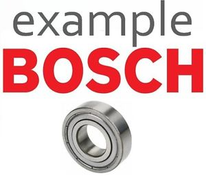FENDT MERCEDES BOSCH Grooved Ball Bearing F00M147778