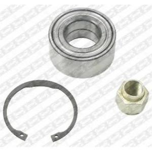SNR Wheel Bearing Kit CITROËN C2 (JM_)1.4 Hatchback 2006-  55Kw 75Hp 1360cc