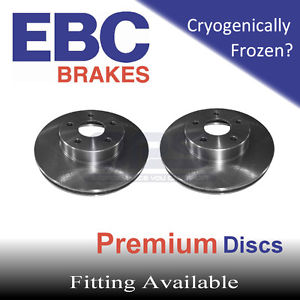EBC Rear Brake Discs (Rotors) for CITROEN C4 1.6 (110) (Bosch Rear 25mm Bearing