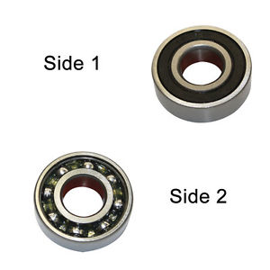 Replacement Ball Bearing 12 x 37 x 12 (mm) Bosch 1610900015 – SE 6301-RS