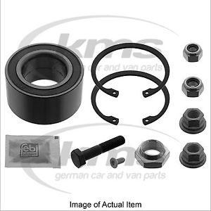 WHEEL BEARING KIT Seat Inca Van SDi (1996-2004) 1.9L – 64 BHP FEBI Top German Qu
