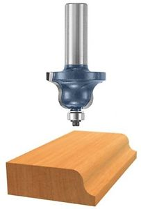 Bosch 85592M 1/4-Inch Cut 1/2-Inch Shank Roman Ogee Router Bit With Ball Bearing