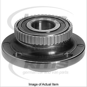 WHEEL HUB INC BRG & ABS RING BMW 3 Series Saloon 320i E30 2.0L – 129 BHP FEBI To