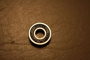 PEER Bearing SS99R4-C3 Lot of 5 Stainless Steel 1/4 x 5/8 x 0.196 Double seal