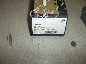 Peer UCT203-11 3-Bolt Flange Bearing *FREE SHIPPING*