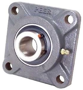 Peer Bearing PER   UCF205-16 4 Bolt Standard Flange Bearing Unit, Cast Iron,