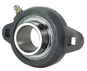 Peer Bearing FHSFX206-20G 2 Bolt Flange Unit, Narrow Inner Ring, Relubricable,