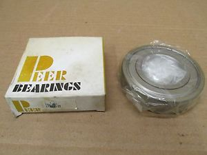 1 NIB PEER 6208ZZ 6208 ZZ BALL BEARING METAL SHIELDED BOTH SIDES 6208Z