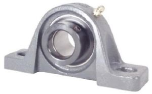 Peer Bearing HCP207-22 Pillow Block, Standard Shaft Height, Wide Inner Ring,