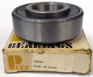 PEER 88504 SINGLE ROW BALL BEARING, 20MM BORE