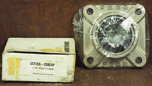 "1  PEER UCF206-20BENP 1-1/4"" 4-BOLT FLANGE BEARING NIB ***MAKE OFFER***"