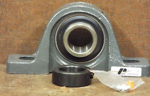 1  PEER HC206-18 2-BOLT PILLOW BLOCK BEARING ***MAKE OFFER***