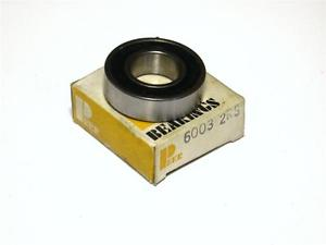 BRAND  IN BOX PEER BALL BEARING 17MM X 35MM X 10MM 6003-2RS (2 AVAILABLE)