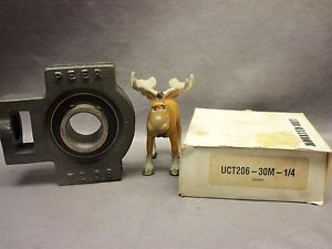 Peer Mounted Unit UCT206-30M-1/4 Take-Up Bearing 30mm Bore