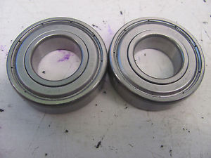 LOT OF 2 6205Z PEER SINGLE ROW BALL BEARING