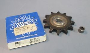 "Martin 80BB12H 3/4"" Sprocket on Peer Z9504RSTFP Bearing w/ Bushing NIB"