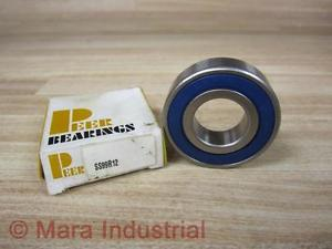 Peer Bearings SS99R12 Sealed Ball Bearing 9R-12