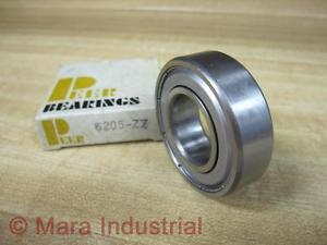 Peer Bearings 6205-ZZ Single Row Shielded Ball Bearing 6205ZZ