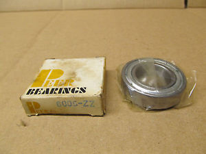 1 NIB PEER 6005-ZZ 6005ZZ DEEP GROOVE BALL BEARING SHIELDED BOTH SIDES
