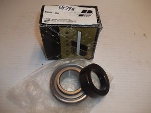 Peer FH207 23G Self-Aligning Relubricatable Bearing w/Locking Collar