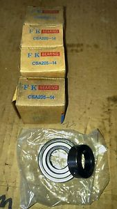 (Qty 4) CSA205-14 Insert Ball Bearing  Eccentric Locking Collar