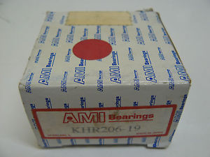 AMI BERAINGS KHR206-19 ECCENTRIC COLLAR LOCKING BEARING INSERT