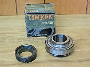 "TIMKEN FAFNIR G1108KRR ECCENTRIC LOCKING COLLAR BALL BEARING 1.5""  BORE NIB"