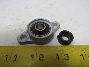 AMI Bearings UFL000 Eccentric Collar Locking Two-Bolt Flange Unit 10mm Shaft