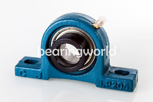 "SALP206-18G  High Quality 1-1/8"" Eccentric Locking Bearing with Pillow Block"