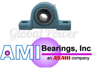 UGAO311 55MM HEAVY ECCENTRIC COLL PILLOW BLOCK AMI Bearing Brand