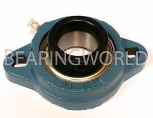"""SAFTD201-08G New 1/2"""" Eccentric Locking Bearing with 2 Bolt Ductile Flange"""