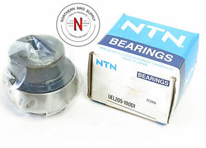 "NTN UEL205-100D1 BALL BEARING INSERT, ID: 1.000"", OD: 52mm, ECCENTRIC COLLAR"
