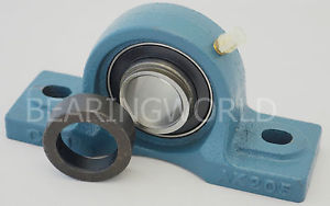 "HCAK206-17  High Quality 1-1/16"" Eccentric Locking Pillow Block Bearing"