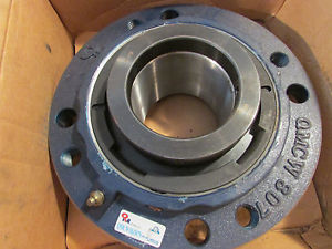 QM Bearing QMCW18J307S Eccentric Piloted Flange Cartridge 3-7/16'' Shaft. New!