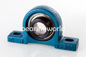 "SALP207-23  High Quality 1-7/16"" Eccentric Locking Bearing with Pillow Block"