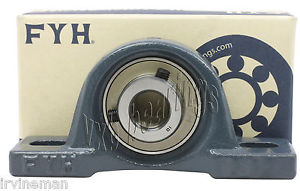 "FYH Bearing NAP207-20 1 1/4"" Pillow Block with eccentric locking collar 11129"
